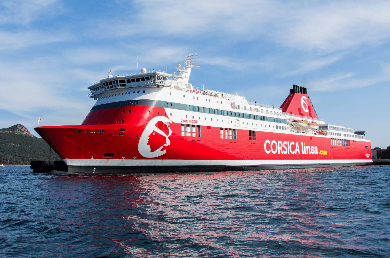 Jean Nicoli Corsica Lines set installation of scrubbers at Ship repair yard at Palumbo